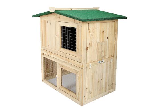 cage lapin bois. Black Bedroom Furniture Sets. Home Design Ideas