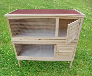 clapier cage lapins. Black Bedroom Furniture Sets. Home Design Ideas