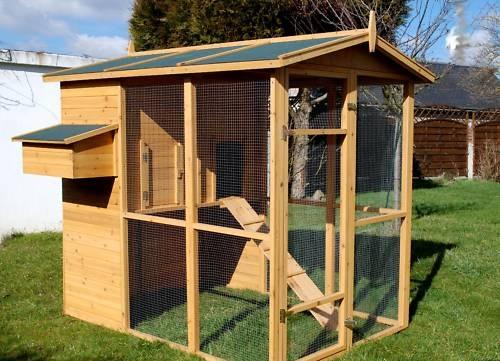 poulailler 7 poules. Black Bedroom Furniture Sets. Home Design Ideas